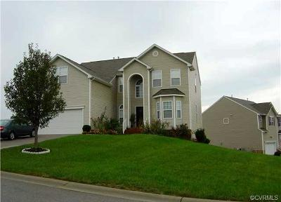 Chesterfield County Rental For Rent: 13200 Stockleigh Drive