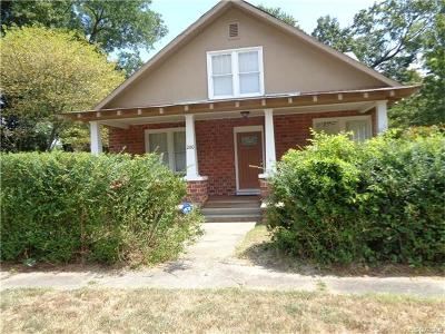 Hopewell VA Single Family Home For Sale: $179,900