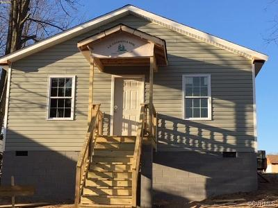Hopewell VA Single Family Home For Sale: $114,950