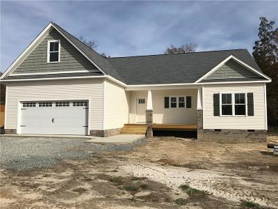 New Kent Single Family Home For Sale: Tba Quinton Meadows Court