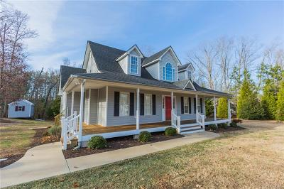 Powhatan County Single Family Home For Sale: 1841 High Hill Drive