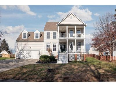 Hanover Single Family Home For Sale: 9358 Crossover Drive