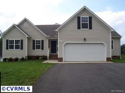 North Dinwiddie VA Single Family Home For Sale: $273,500