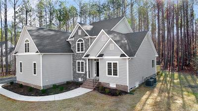 Swift Creek Estates Single Family Home Sold: 17430 Creekbed Road