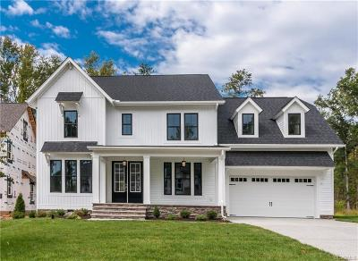 Midlothian Single Family Home For Sale: 2100 Tulip Hill Drive
