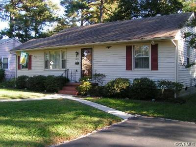 Henrico Rental For Rent: 3013 Kenwood Avenue