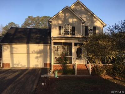 West Point VA Single Family Home For Sale: $274,900