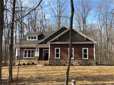 Goochland Single Family Home For Sale: 2352 Rock Castle Road