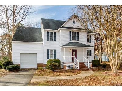 South Chesterfield VA Single Family Home For Sale: $235,000