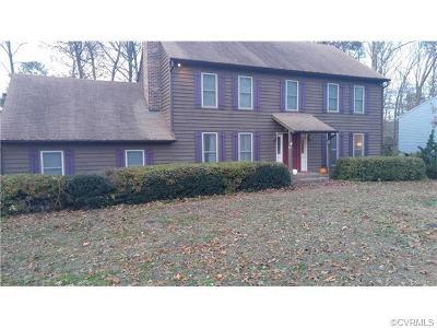 Chester Single Family Home For Sale: 4420 Overridge Drive