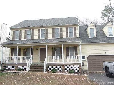 Chesterfield County Rental For Rent: 5418 Standing Oak Road
