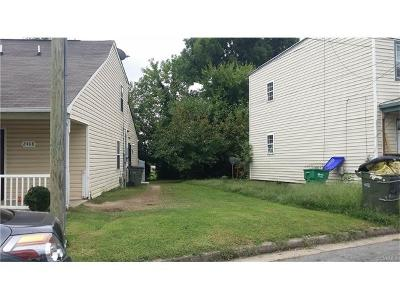 Richmond Residential Lots & Land For Sale: 2410 Marion Mashore Street