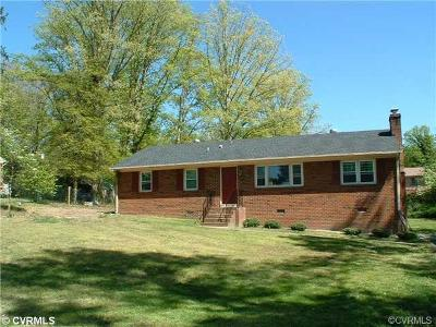 Chesterfield County Rental For Rent: 11907 Ken Drive