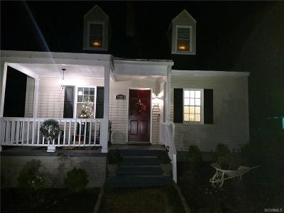 Chester Single Family Home For Sale: 12220 Harrowgate Road
