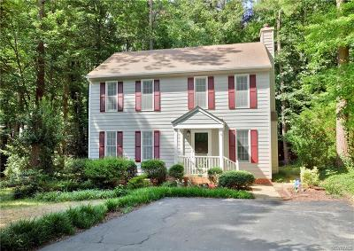 Midlothian Single Family Home For Sale: 14607 Mill Spring Circle