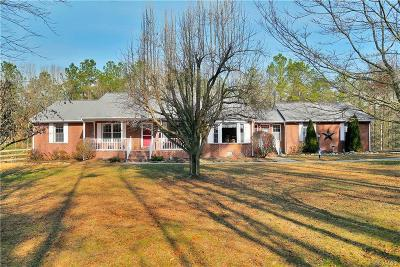 Aylett Single Family Home For Sale: 3431 West River Road