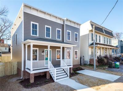 Richmond Single Family Home For Sale: 1211 Catherine Street
