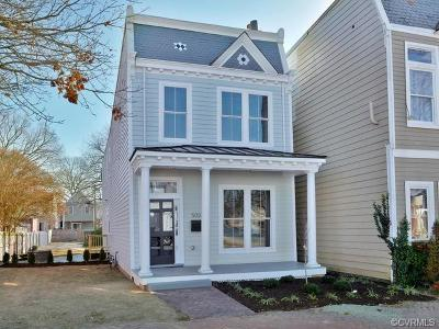 Richmond Single Family Home For Sale: 503 North 31st Street