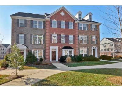 Henrico County Condo/Townhouse For Sale: 3902 Pumpkin Seed Lane #3902