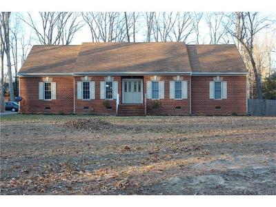 Henrico County Single Family Home For Sale: 4960 Rail Drive