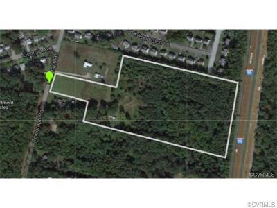 Henrico County Residential Lots & Land For Sale: 9011 Telegraph Road
