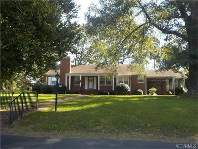Amelia County Single Family Home For Sale: 8911 Five Forks Road