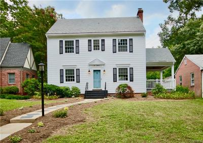 Richmond Single Family Home For Sale: 1013 West 46th Street
