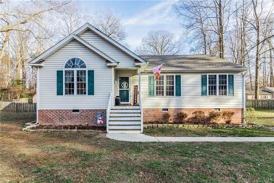 New Kent Single Family Home For Sale: 10211 Talleysville Road