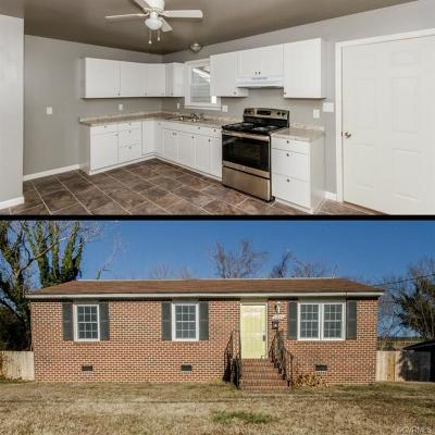 Petersburg VA Single Family Home For Sale: $99,950