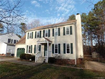 Midlothian VA Single Family Home Sold: $210,250