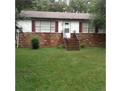 Richmond Single Family Home For Sale: 302 Knight Drive