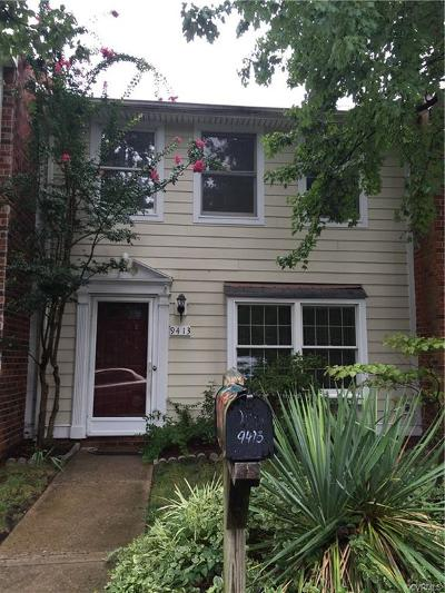 Henrico Rental For Rent: 9413 Poppy Court