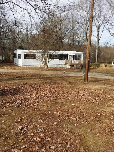 Powhatan County Single Family Home For Sale: 2553 Red Lane Road