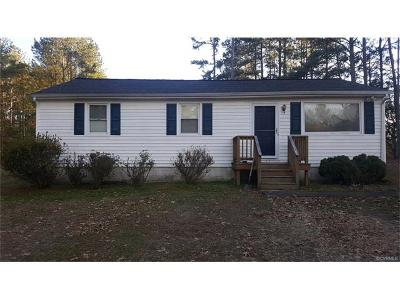 Church Road VA Single Family Home For Sale: $119,900