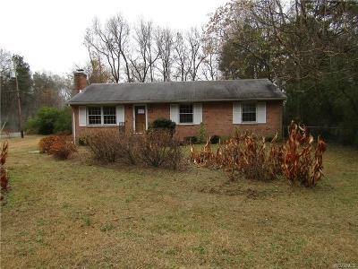 Single Family Home For Sale: 5407 Snead Road