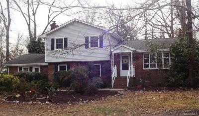 Chester Single Family Home For Sale: 4317 Greenbriar Drive