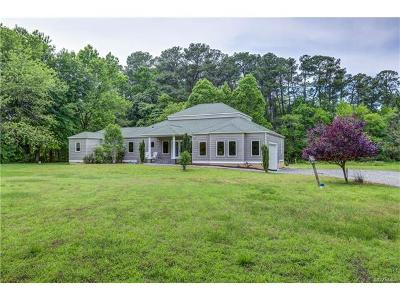 White Stone VA Single Family Home For Sale: $429,000