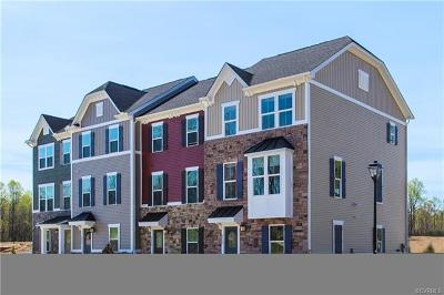 Chesterfield County Condo/Townhouse For Sale: 7852 Mint Lane #X-D