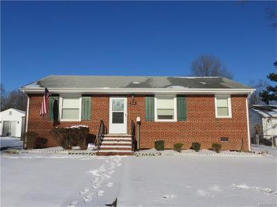 Henrico Single Family Home For Sale: 514 West Washington Street