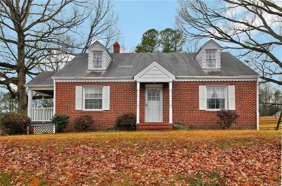 Chesterfield Single Family Home For Sale: 2408 Courthouse Road