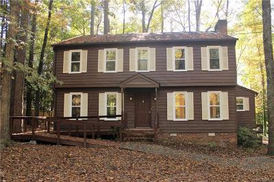 Chesterfield County Rental For Rent: 13705 Quail Meadows Lane