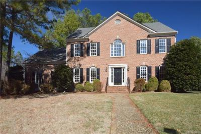 Glen Allen Single Family Home For Sale: 12412 Chadsworth Place