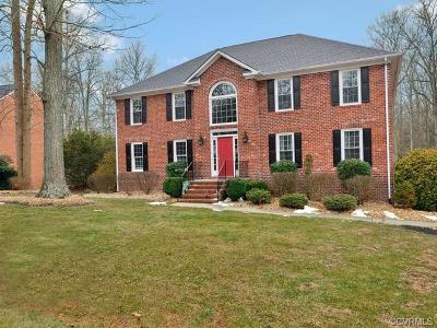 Chesterfield County Single Family Home For Sale: 4107 Rockridge Place