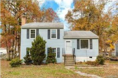 Chesterfield VA Single Family Home For Sale: $149,950