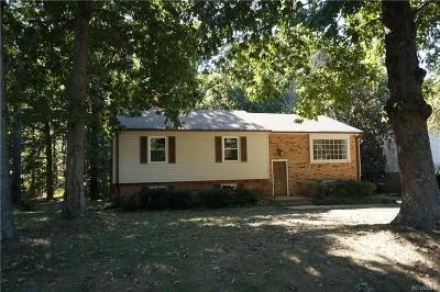 Chesterfield VA Single Family Home For Sale: $225,000