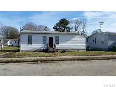 Hopewell VA Single Family Home For Sale: $53,000