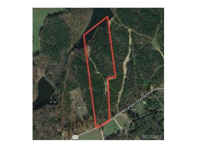 Nottoway County Residential Lots & Land For Sale: 630 Mountain Hall Road