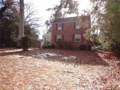 Henrico County Single Family Home For Sale: 7713 Hollins Road