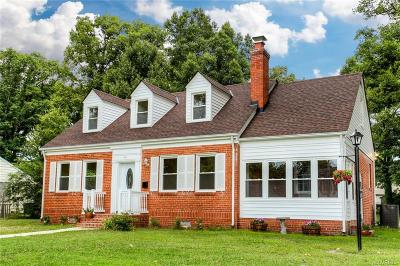 Henrico County Single Family Home For Sale: 2610 Hilliard Road