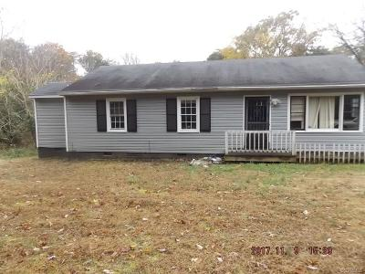 Powhatan County Single Family Home For Sale: 3263 Judes Ferry Road